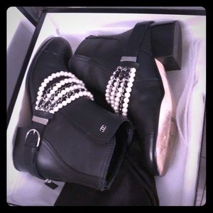 Chanel boots. New